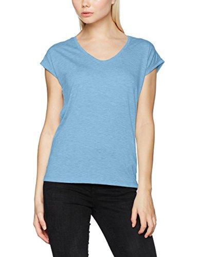 PIECES Pcbillo Tee Solid Noos, Camiseta para Mujer Azul (Dusk Blue Dusk Blue)