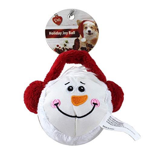 Dazzling DEals Holiday Joy Ball Snowman Face with Ear Muffs