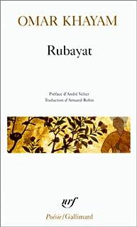 Rubayat, Khayam, Omar