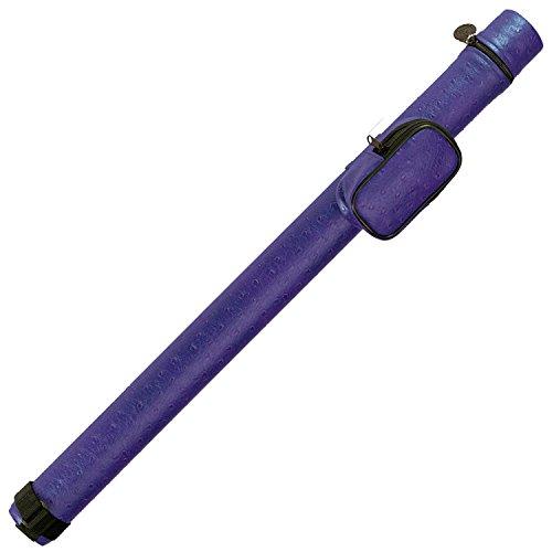 (Pro Series PJ Leatherette Pool Cue Case, Purple)