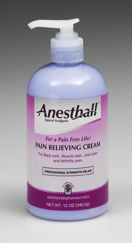 Anesthall Pain Relieving Cream - 12 oz. Pump Bottle