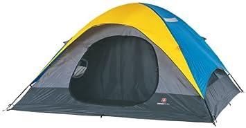 Amazon.com : Swiss Gear 2-Room Eight-Person Square Dome Tent ...