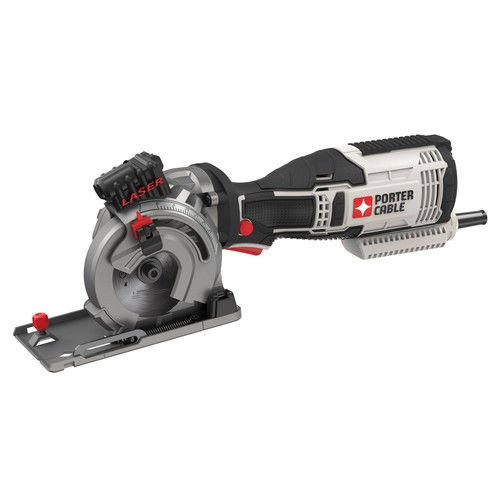 Porter-Cable PCE380KR 5.5 Amp 3-1/2'' Multi Material Saw Kit (Certified Refurbished) by PORTER-CABLE