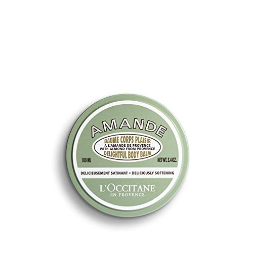 L Occitane Delightful Body Balm Enriched with Almond Oil and Butter, 3.4 oz.