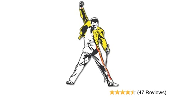 Freddie Mercury Queen Vynil Car Sticker Decal Select Size Sticky Pig