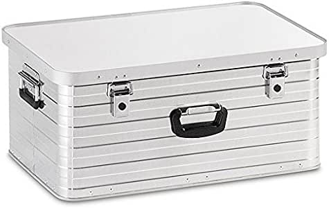 Caja de aluminio 80 litros para almacenamiento, transporte, herramientas, multiuso, color plata/plateado - Maleta Maletín: Amazon.es: Hogar