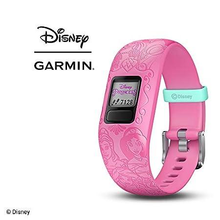 Orologio Principesse Disney - Viola - Garmin Vivofit JR 2 Activity Tracker per Bambini con Cinturino Regolabile - 6 anni