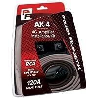 Power Acoustik AK-4 4ga Amplifier Wire Kit w/ 120A MANL Fuse