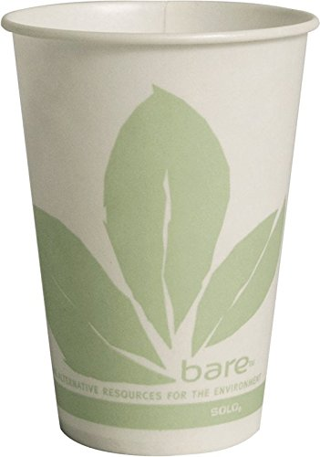- Solo R10NBB-JD110 10 oz Bare Waxed Cold Cup (Case of 2000)
