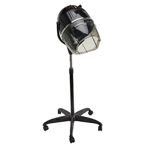 orion-motor-tech-110v-professional-stand-up-hair-dryer-with-timer-swivel-hood-caster-for-salon-black