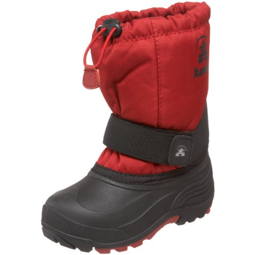 Kamik Rocket Wide Cold Weather Boot ,Red,11 W US Little Kid