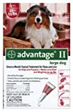 Premium Pet Products 04461758 Advantage II For Large Dogs, Red, 4-Pk. - Quantity 12