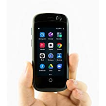 Unihertz Jelly Pro, The Smallest 4G Smartphone in the World, Android 7.0 Nougat Unlocked Smart Phone with 2GB RAM and 16GB ROM, Space Black