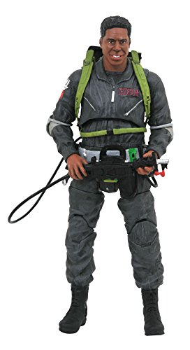 Diamond Select Toys Ghostbusters 2 Select: We'Re Back Winston Zeddemore Action Figure