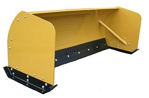 Titan 8' Skid Steer Snow Pusher Attachment SP8 Bobcat Kubota Tractor ()