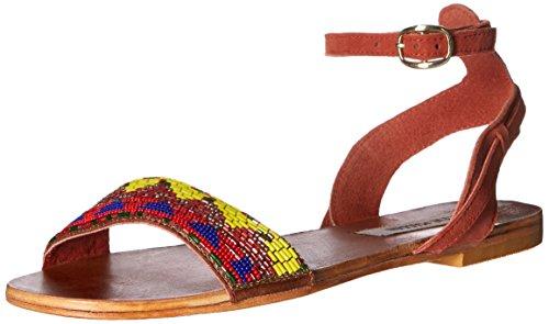 Steve Madden de las mujeres jewells Flat Sandal Bright Multi