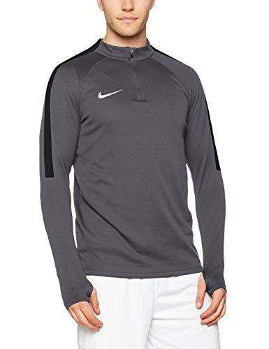 Gris sQD Manches NK Longues Black Shirt Nike White Grey coutil Homme à Top Dark UqzwwT