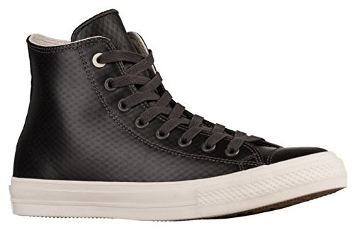 Converse Chuck Taylor II All Star Hi Top Sneakers Leather Almost Black