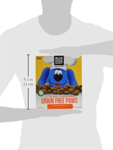 Blue Dog Bakery Grain-Free Dog Biscuits | All-Natural | Peanut Butter & Molasses | 16oz (Pack of 6) by Blue Dog Bakery (Image #6)