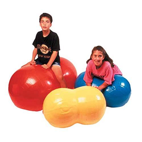 - CanDo® Inflatable Exercise Sensi-Saddle Roll - Yellow - 16