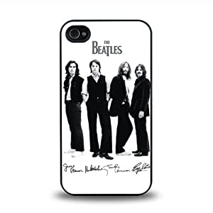 Rock Band Forever The Beatles Classic Design #8 Matt Feel Hard Plastic iPhone 4 4s Case Protective Skin Cover by runtopwell