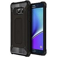 Microsonic 10643 Samsung Galaxy Note 5 Kılıf Rugged Armor, Siyah