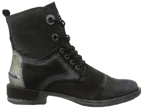 Bugatti Women's 421330303919 Boots, Schwarz (Black/Metallic) Black (Black / Metallics 1090)