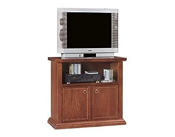 Vintage Home Porta TV IN Legno 2 Porte+VANO DA 84x40x80h: Amazon.de ...