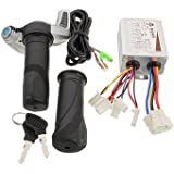 Generic 24V 500W Motorcycle Brush Speed Controller & Scooter Throttle Twist Grips