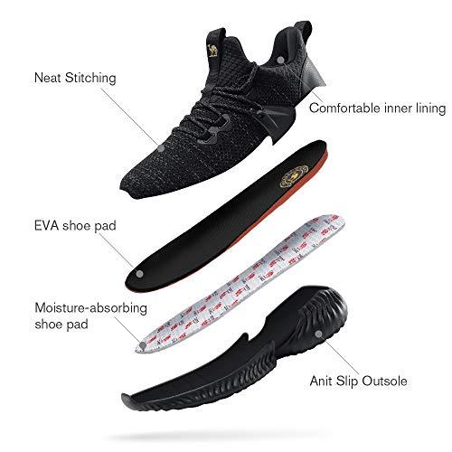 Noir Mode Baskets Course Hommes Sn Tennis Sentier Respirantes Sportives Sur Légères Confortables Pour Crown Chaussures De Camel qC6xaF4wx