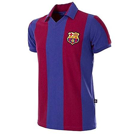 COPA Football - Camiseta Retro FC Barcelona 1980-1981 (XL): Amazon ...