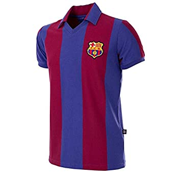 COPA Football - Camiseta Retro FC Barcelona 1980-1981 (S)