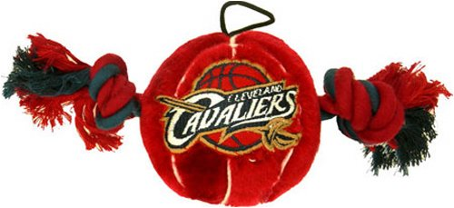 Pets First NBA Cleveland Cavaliers Plush Basketball Pet Toy