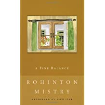 By Rohinton Mistry A Fine Balance [Paperback]
