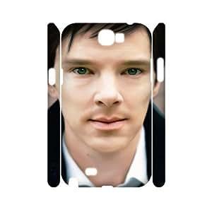 C-EUR Benedict Cumberbatch Customized Hard 3D Samsung Galaxy Note2 N7100/N7102