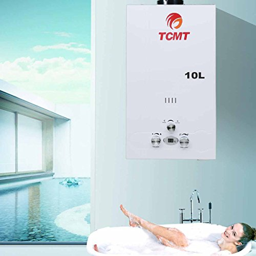 Tengchang 2.6 GPM 10L Propane Instant Hot Water Heater LP...