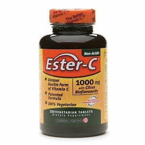 American Health Ester-C 1000mg with Citrus Bioflavonoids 120