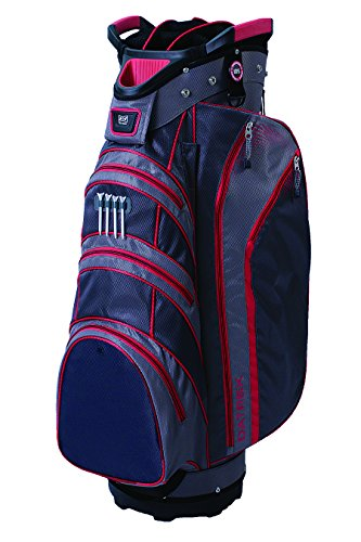 Datrek Lite Rider Cart Bag Charcoal/Slate/Red