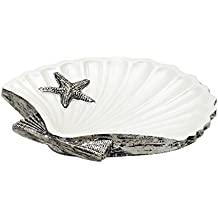 Zenna Home, India Ink Beach Cottage Soap Dish, Nautical
