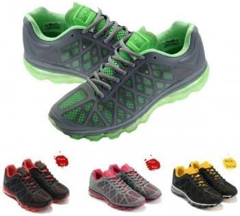 Bheema Altos zapatos de calidad Nuevos Eever deportes para hombre entero Cojín de Palm Zapatillas - Gray Green: Amazon.es: Deportes y aire libre