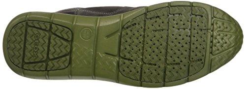 Geox U Gektor B Abx D, Zapatillas Altas para Hombre Braun (DK BROWNC6006)