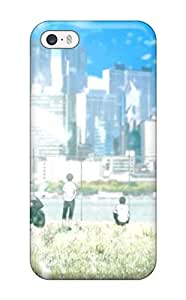 Top Quality Rugged Zankyou No Terror Art Case Cover For Iphone 5/5s With Free Screen Protector
