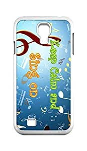Cool Painting keep calm and sing on Snap-on Hard Back Case Cover Shell for Samsung GALAXY S4 I9500 I9502 I9508 I959 -591