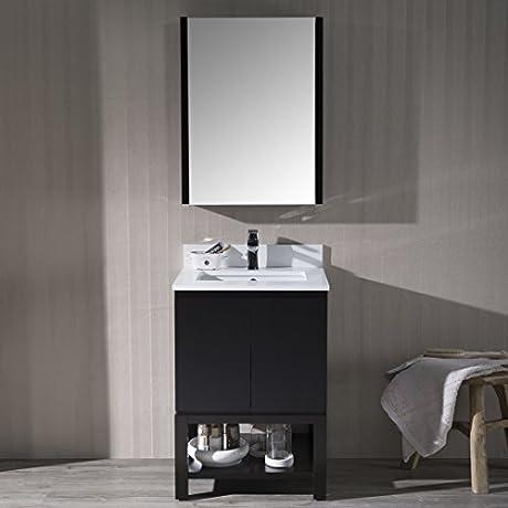 BLOSSOM 000 24 02 MC Monaco 24 Vanity Set With Medicine Cabinet Espresso
