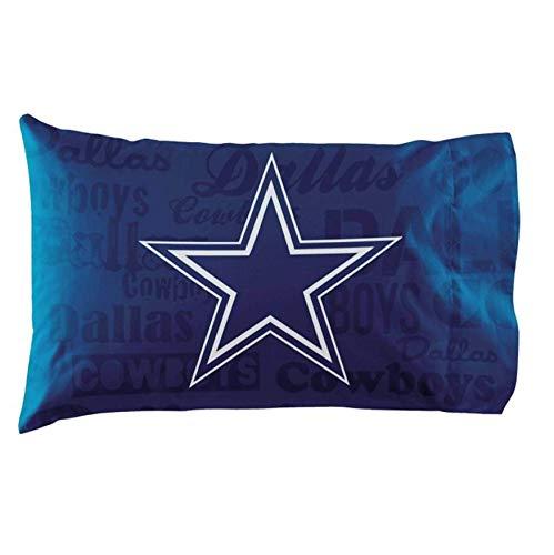 The Northwest Company NFL Dallas Cowboys Anthem Pillowcase Set Anthem Pillowcase Set, Blue, One Size -