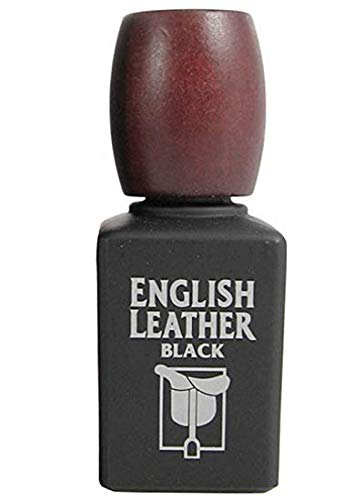 Dana English Leather For Men Cologne Splash .6 oz Mini (Black 1.7 - Black English Cologne Leather