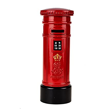 Amazon Alloy Metal British Style London Mail Box Post Office