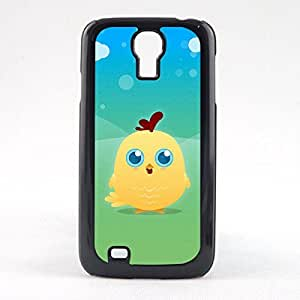 Case Fun Case Fun Yellow Chicken by DevilleART Snap-on Hard Back Case Cover for Samsun Galaxy S4 Mini (I9190)