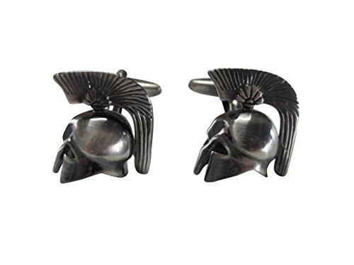 Kiola Designs Greek War Helmet Cufflinks