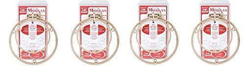 Morgan 7-Inch and 10-Inch Lap Stand Combo Hoops (4) by Morgan